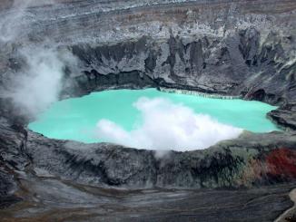 Lake in Costa Rica