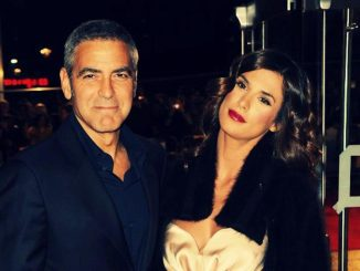 Clooney and canalis in sardinia
