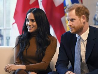 harry and meghan in LA delivering fodd for charity