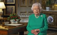 Covid, the queen gave a speech wearing a famous brooch