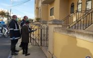 Police spot checks quarantine homes