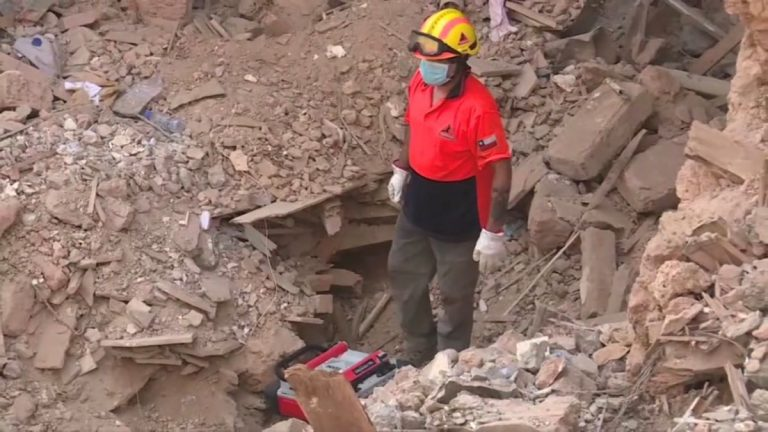 Beirut explosion survivor