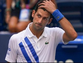 Novak Djokovic disqualified