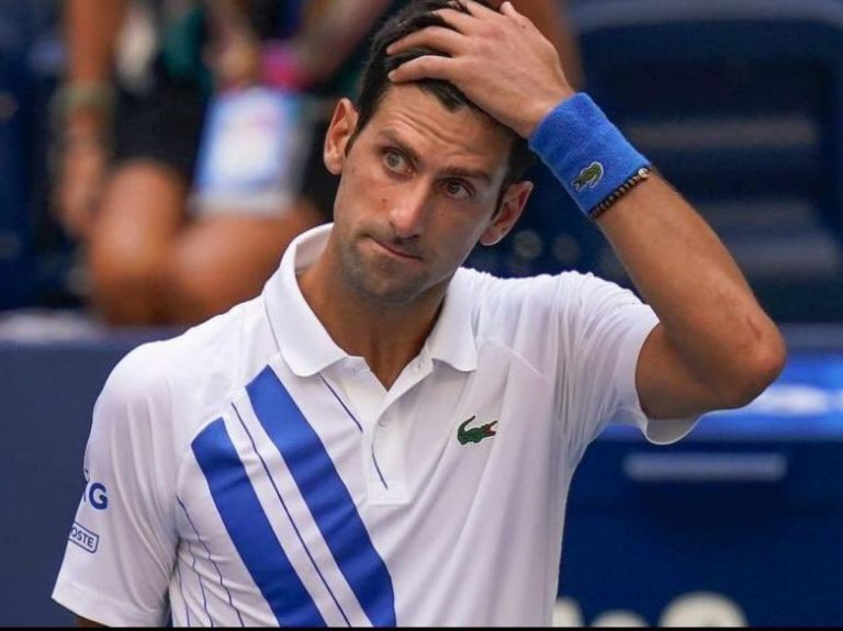 Novak Djokovic disqualified