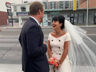 Lily Allen David Harbour wedding
