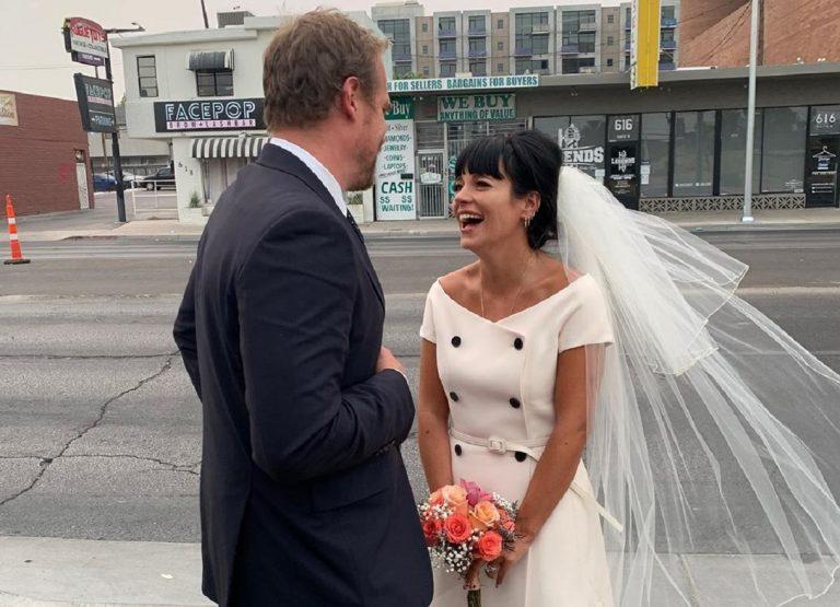 Lily Allen David Harbour wedding