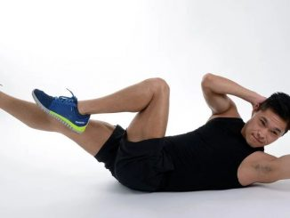 Exercises to develop the abdominals: crunch