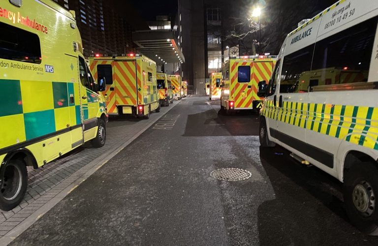 ambulances are working unceasingly