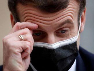 Emmanuel Macron covid