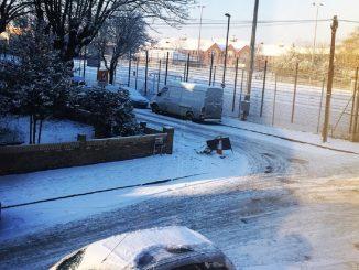 london snow warning