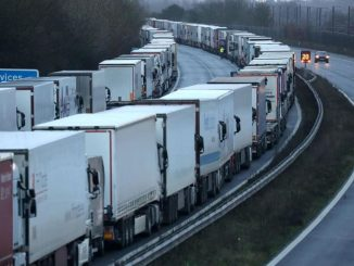UK prepares to a mass testing programme for lorry drivers