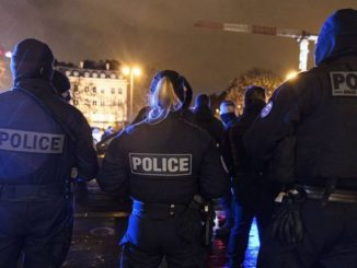 France shooting: three police officers shot dead