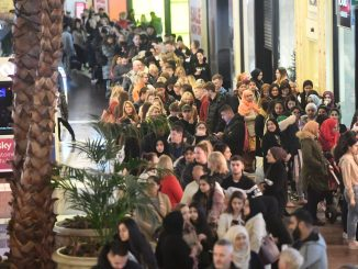 Trafford Centre: crowds of people flocked to sales despite soaring infections