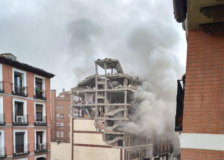 explosion madrid