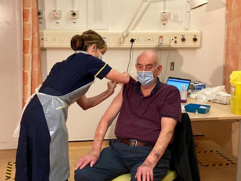 first person oxford vaccine