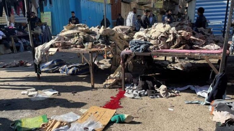 iraq suicide bomber explode baghdad