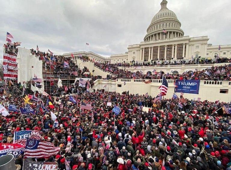 trump mob undermine democracy