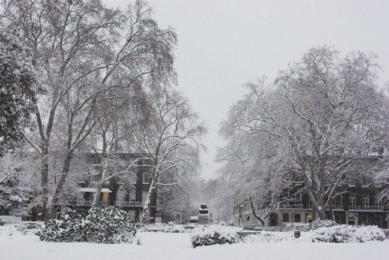 snow london