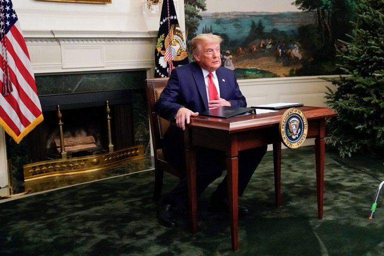 trump condems riots