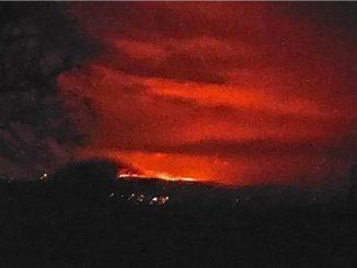 Dartmoor national park is on fire