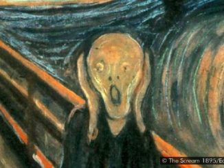 "Edvard Munch on Scream painting: ""can only have been painted by a madman"""