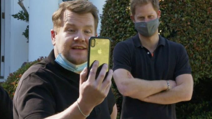 Prince Harry opens up in interview with James Corden