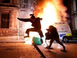 20 police officers injured in Bristol riots