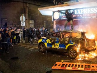 14 arrested in second night of Bristol riots