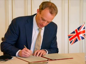 Raab says UK can be global 'force for good'