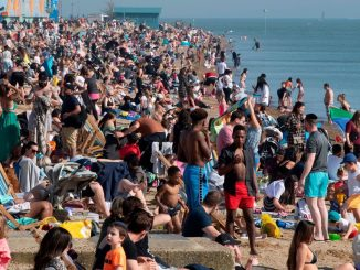 Heat wave: parks and beaches full, but there's the risk of the peak