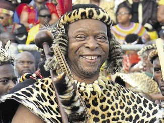South Africa's Zulu King dies