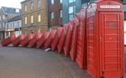 The second life of red telephone boxes: defibrillators and mini museums