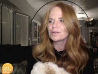 Patsy Palmer interrupts her interview with Good Morning Britain