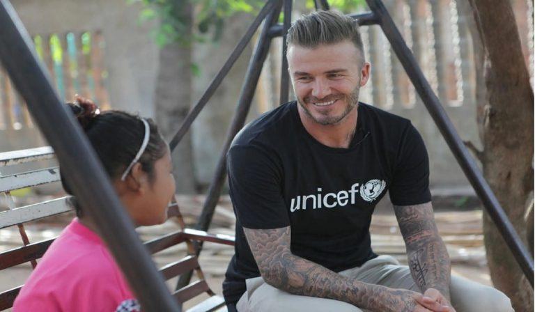 Covid David Beckham Unicef