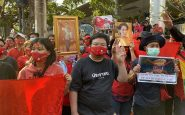 Thai Students who protest about monarchy reform in deteriorating health