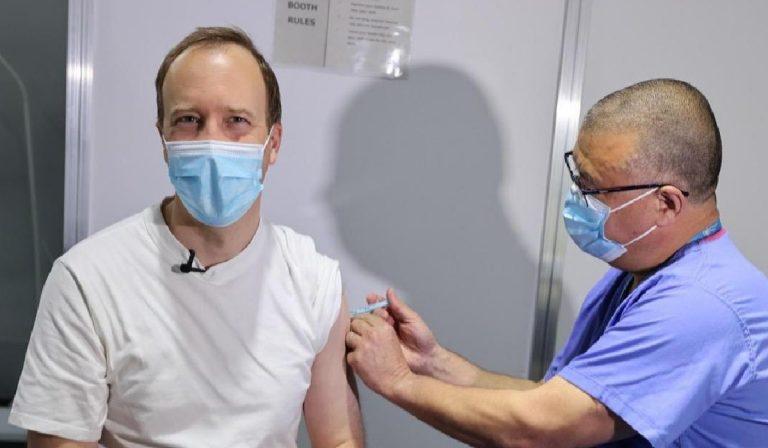 Matt Hancock Covid vaccine