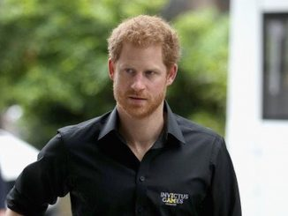 Prince Harry stays in Britain for the Queen's birthday