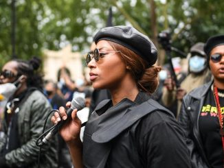 blm activist shot