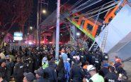 Collapse of the skytrain bridge in Mexico