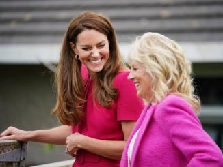 Kate Middleton and Jill Biden