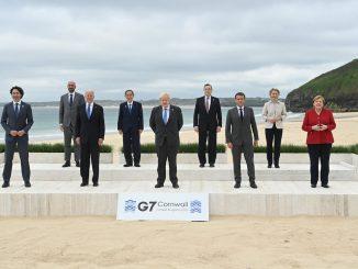 Boris Johnson in G7: UK will donate at least 100 million Covid vaccine