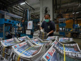 Apple Daily shut down
