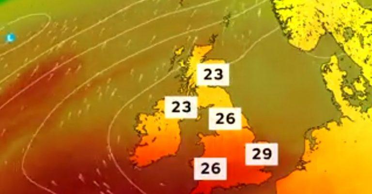 Sunshine all over the UK